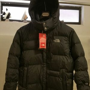 North Face puffy jackets
